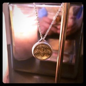 Brighton Dragonfly Double-Sided Necklace (NWOT)